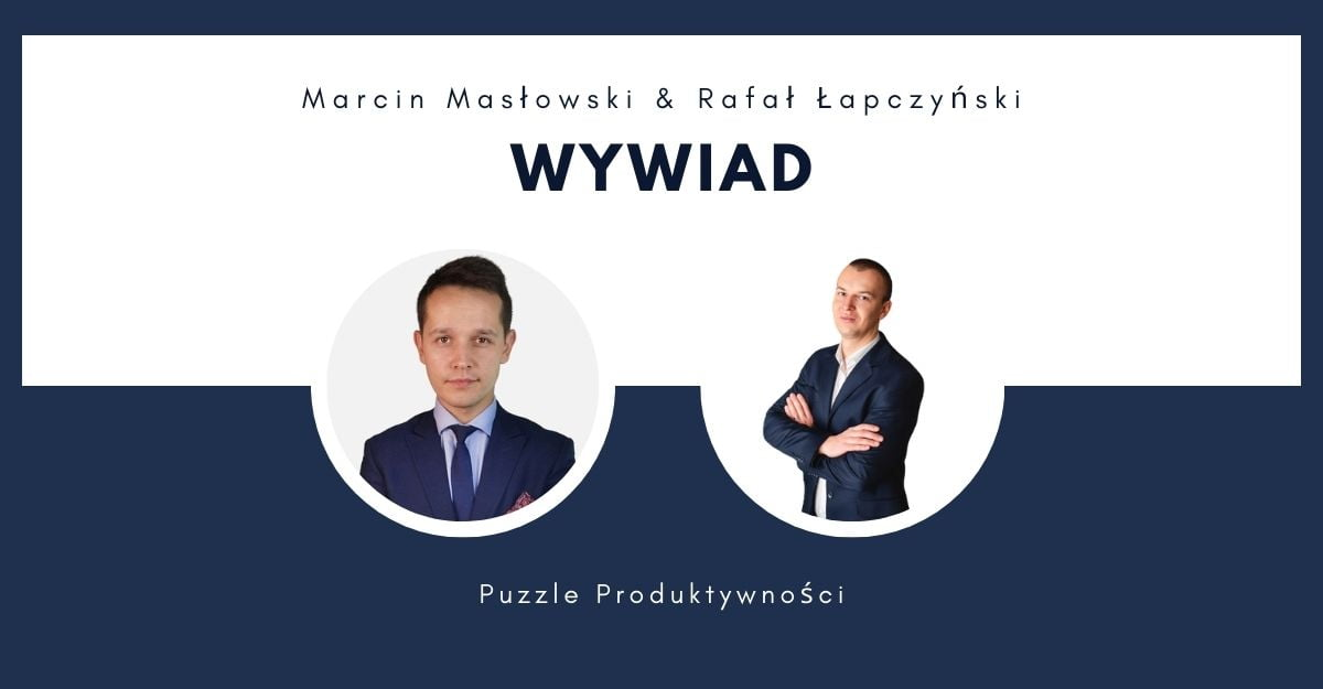 Rafał Łapczyński i Marcin Masłowski