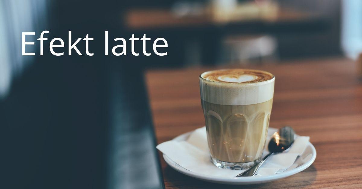 Efekt latte to duży problem w społeczeńskie